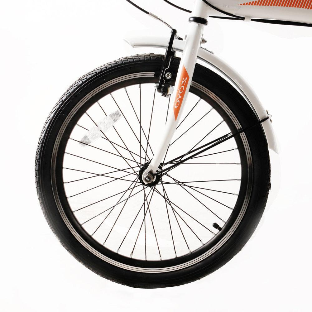 "20"" Folding Adults 7 Sports Bicycles Hi-Ten Ship from"
