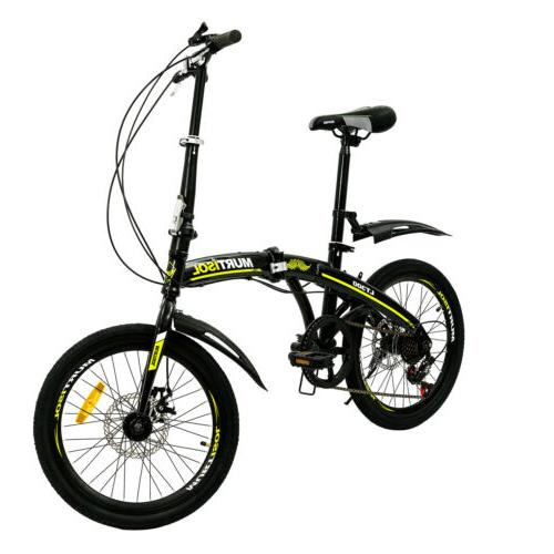 "20"" Front Suspension Speeds Sports Shimano"