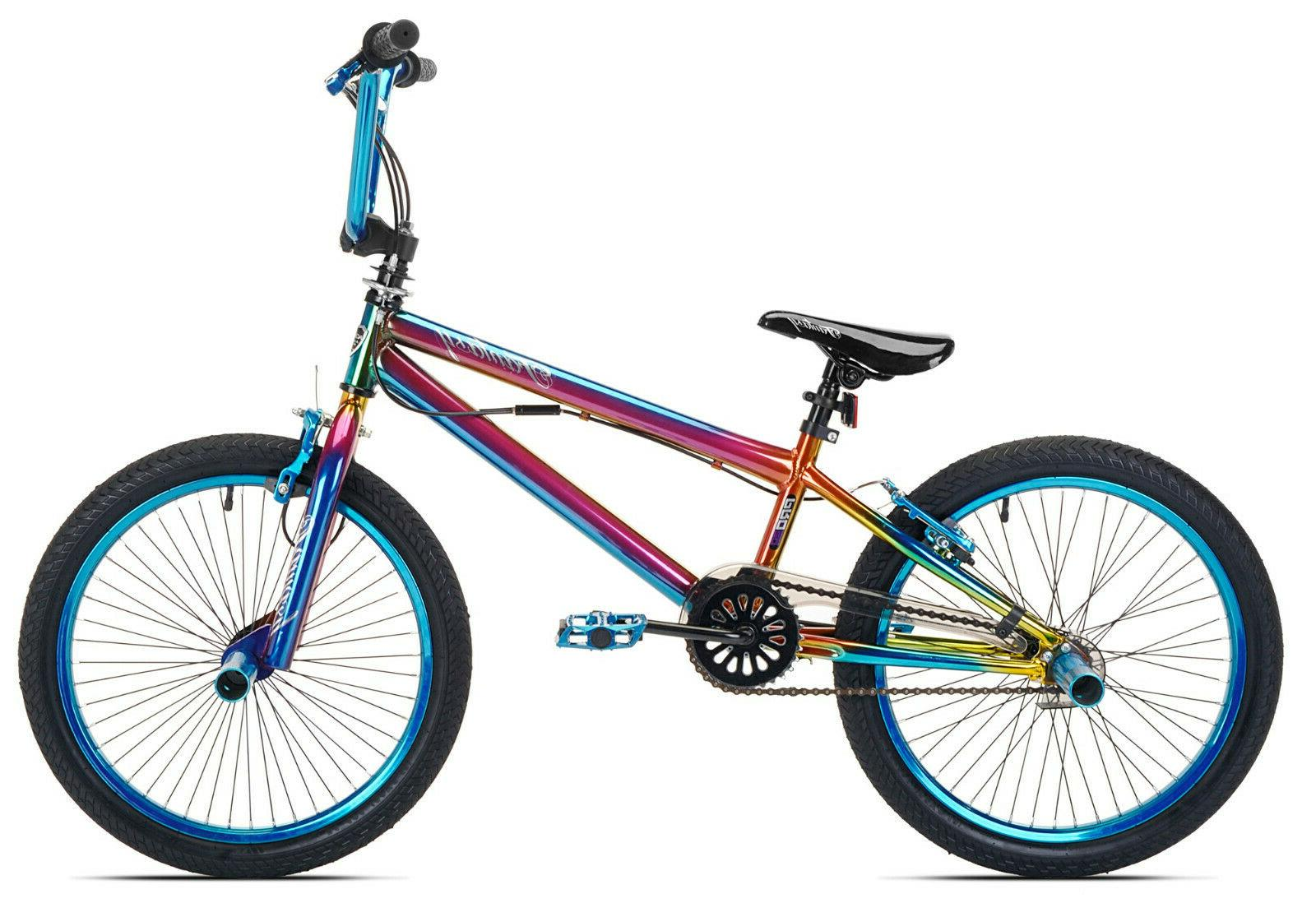 "Kent 20"" Girls Fantasy Bike Blue For Ages 8-12 BMX Sea Kicks"