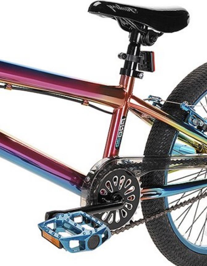 BMX Pro Freestyle Bicycle Steel Frame