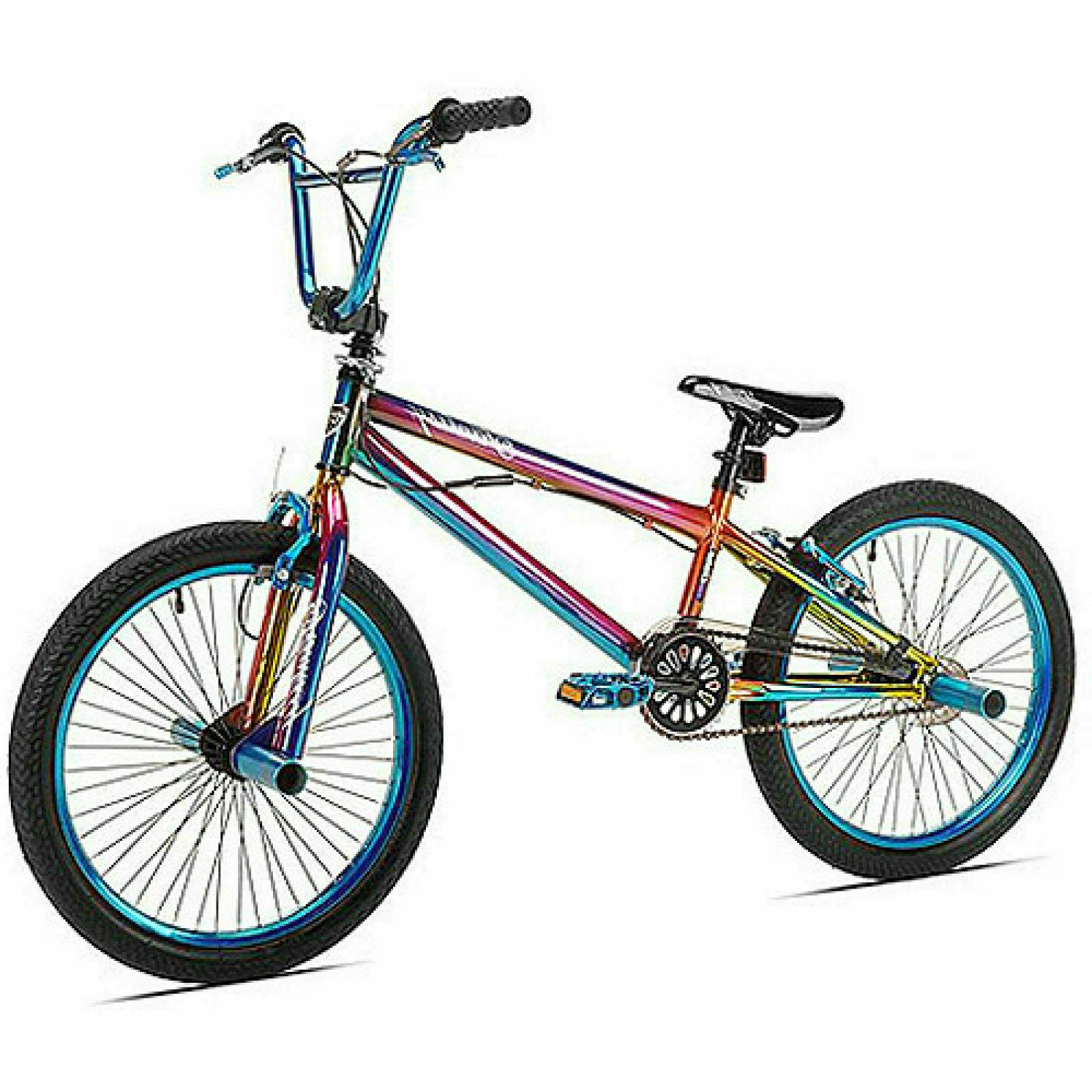 20 in. Kent Fantasy BMX Pro Bike Freestyle Bicycle Steel Fra
