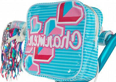 Dynacraft Kids Girls Charmer Bike Rear Coaster Removable Handlebar Bag