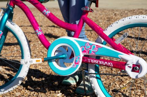 Dynacraft Girls Charmer Bike w/ Coaster & Bag