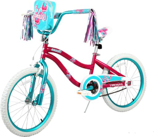 20 kids girls charmer bike w rear