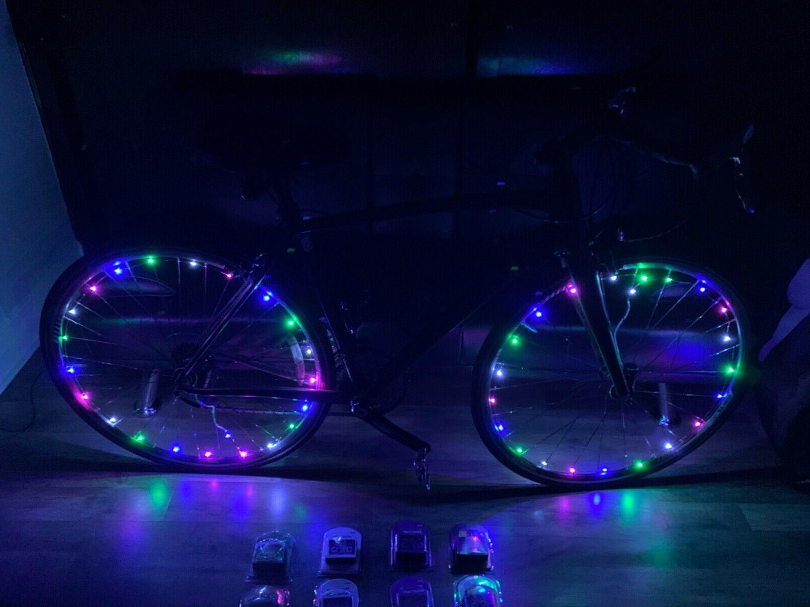 20 LED Cycling Wheel On