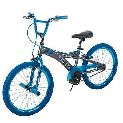 "20"" Radium Boys Metaloid BMX Style Bike Blue Wheel Rims Bicy"