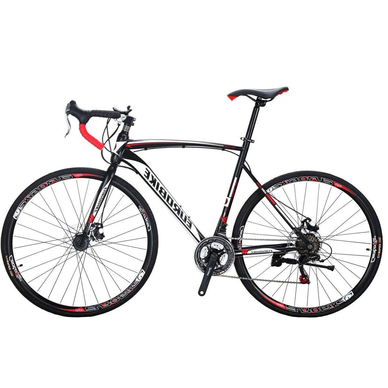 2018 Road Bike 21 Speed Bicyle Men's Cycling 54cm