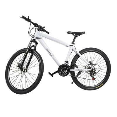 21 Speeds 26 Inch Racing Bicycle Unisex Double Disc Brakes M