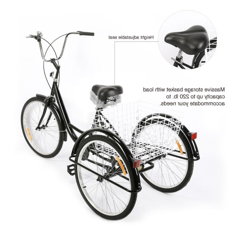"""24""""/20"""" Tricycle Trike Cruiser Bicycle for"""