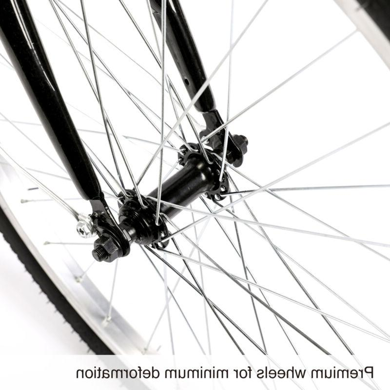 "24""/20"" Trike Cruiser Bicycle for Shopping"
