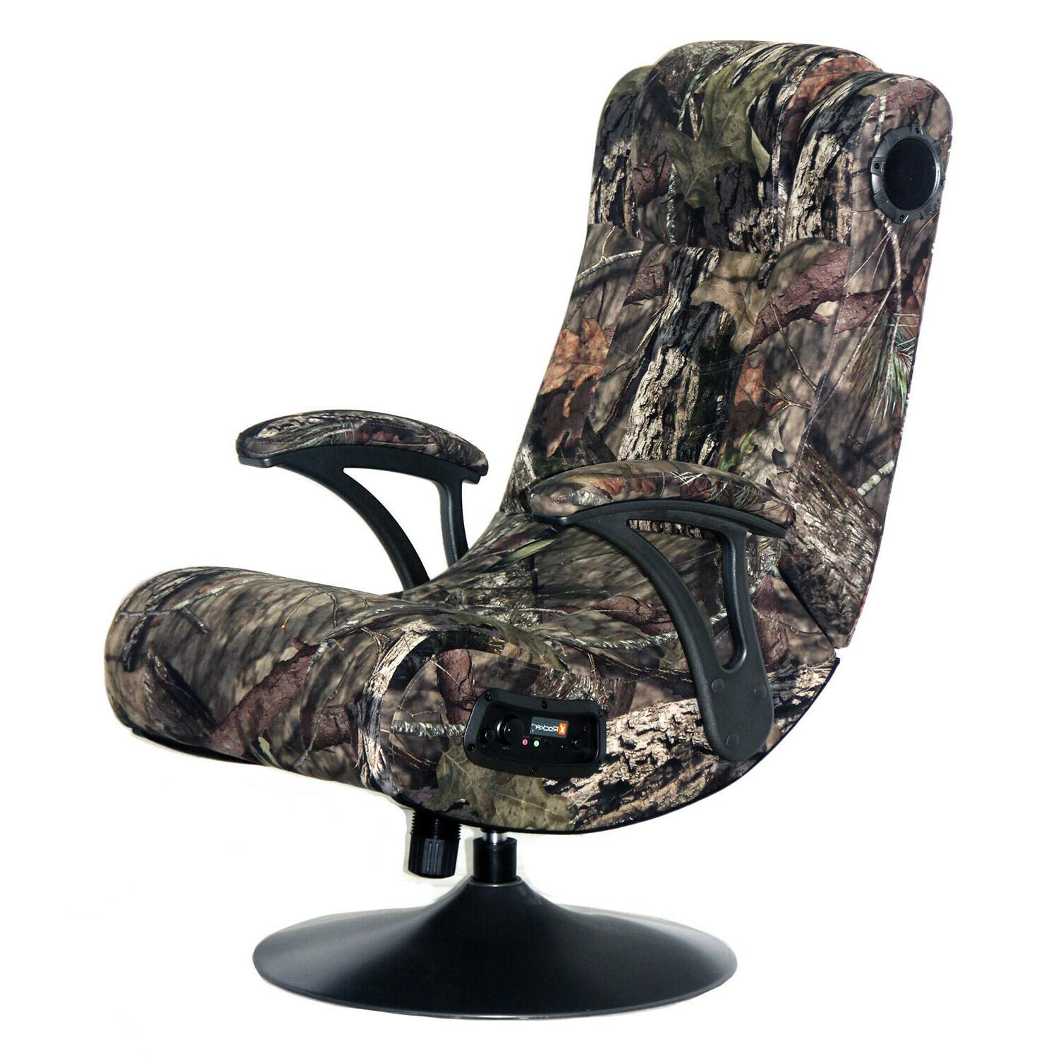 Pro Wireless Bluetooth Video Gaming Chair with Speakers Home