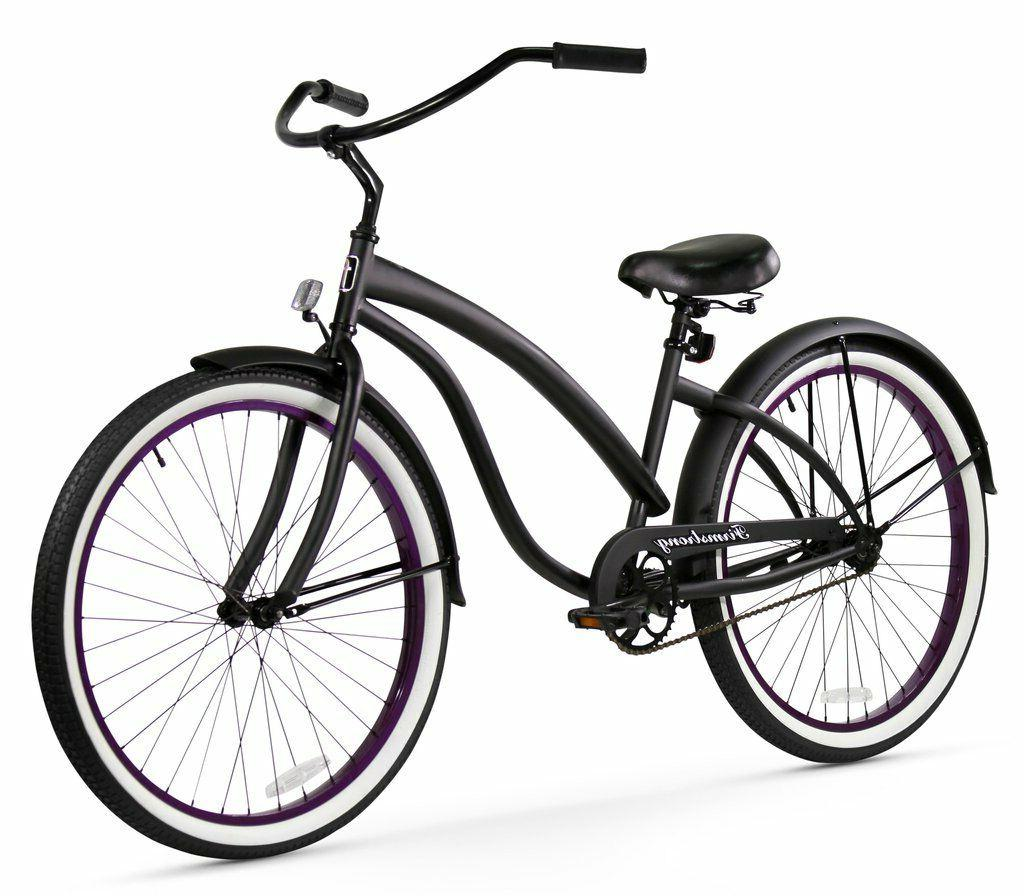 "26"" Beach Cruiser Bike Firmstrong Bella Fashionista Lady Ma"