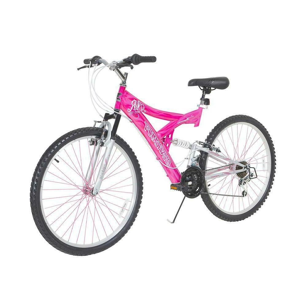 26 hot pink air blast dual suspension
