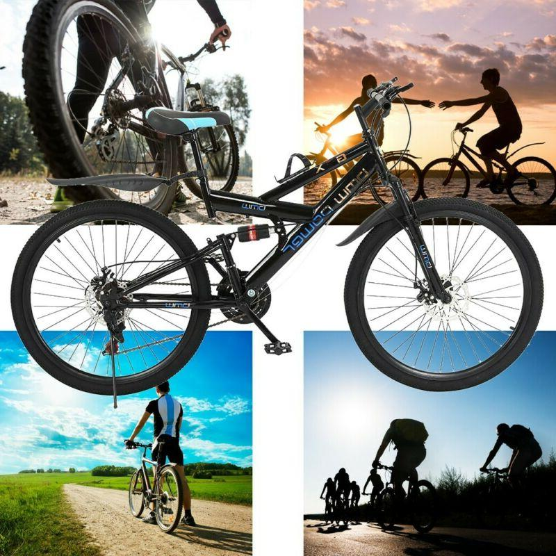 26in 21 Speed Mountain Bike Suspension MTB Bike U