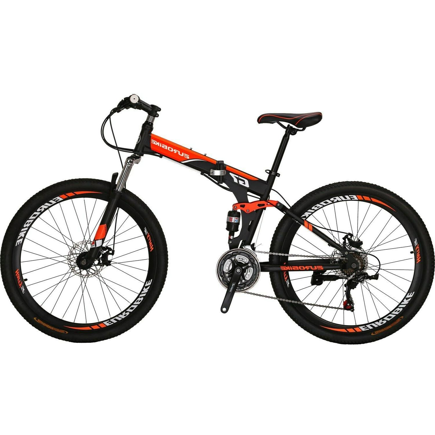 "27.5"" 21 Mens Bikes Foldable"