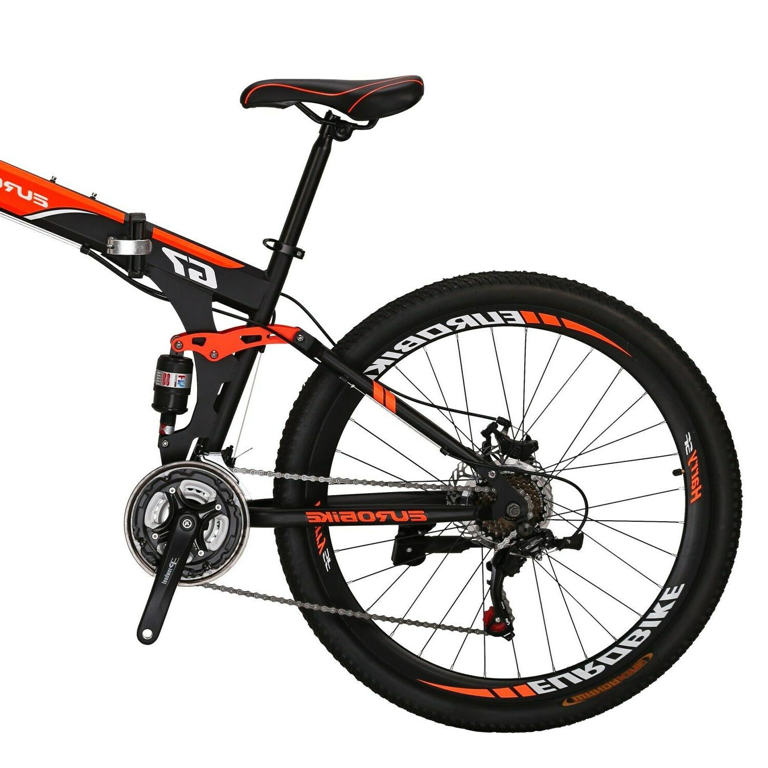 "27.5"" Mountain Bike 21 Mens Foldable"