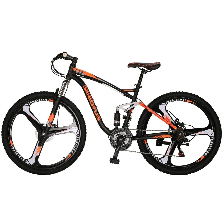 full suspension mountain bike shimano 21 speed