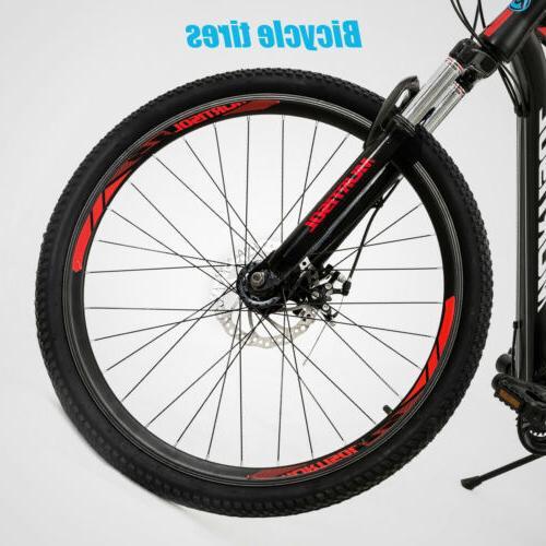 "27.5"" Aluminum Mountain Bike 21 Brakes Suspension"