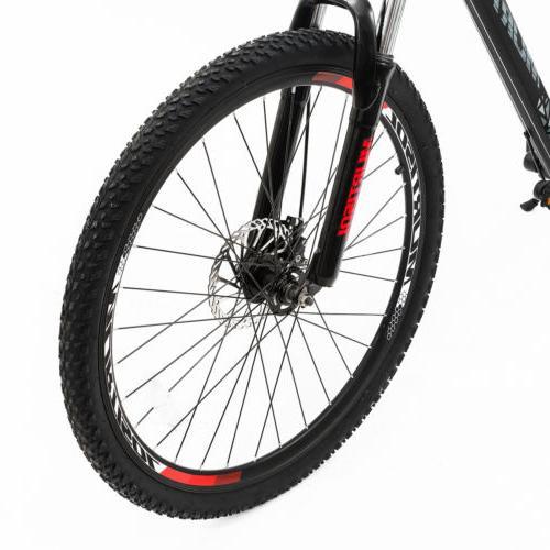 """27.5"""" Red Suspension Bike Bicycles Dics Brakes"""