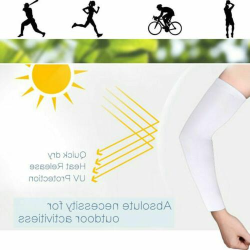 4 Sleeves Bike Sport UV Sun Protection