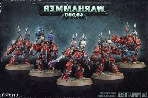 40K Chaos Cultists Havocs Berzerkers Terminators