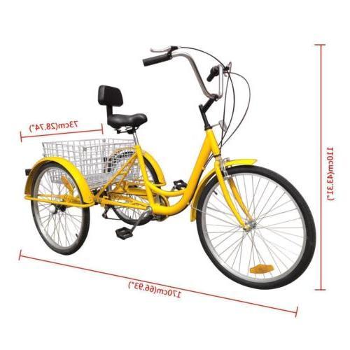 7-Speed Unisex Bike W/Basket