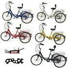 "7-Speed Shimano 24"" Adult 3-Wheel Tricycle Trike Cruise Bike"