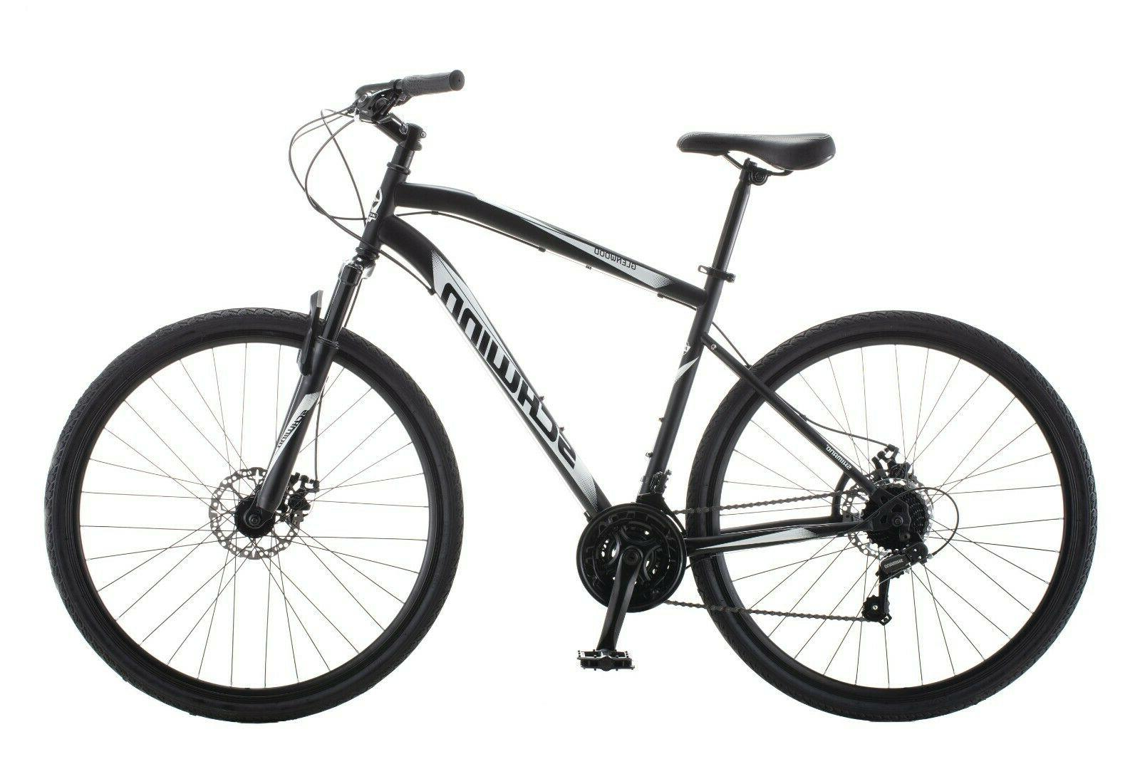 Schwinn 700C Glenwood Mens Hybrid Bike , Black - FREE SHIPPI