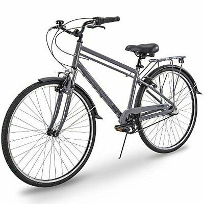 Royce Union 700c Hybrid Comfort Commuter Bike w/ Lightweight