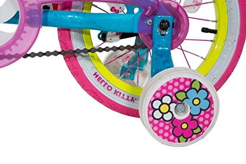 Dynacraft 8048-16ZTJ Girls Kitty Blue/Pink/Yellow,