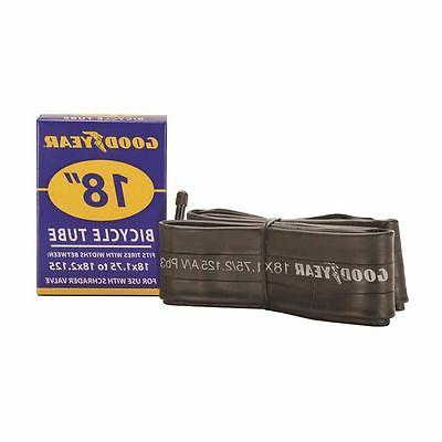 Goodyear 91076 Bicycle Tube, For Use With 18 in x 1-3/4 - 2-