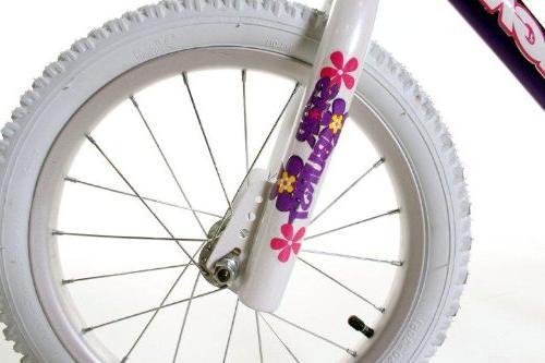Dynacraft Magna BMX Street/Dirt Bike Purple/White/Pink