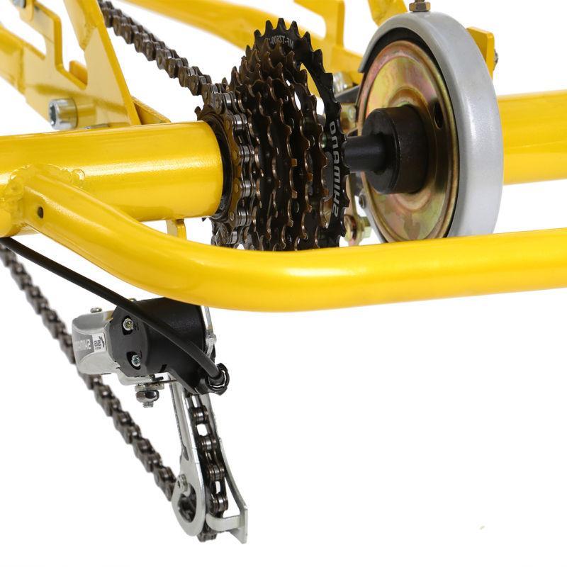 "24"" Adult 3-Wheel Shimano Speed Bicycle Trike 300lbs"