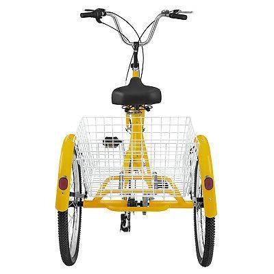 Adult 7-Speed Bicycle Bike Cruise Basket