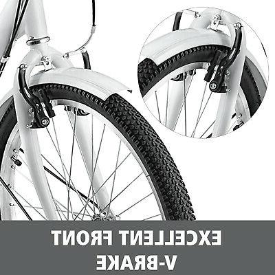"Shimano 24"" 3-Wheel Tricycle Bicycle Bike"
