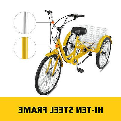 """20/24/26"""" Tricycle 1/7 Speed W/"""