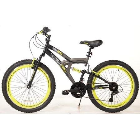 air flex dual suspension bike