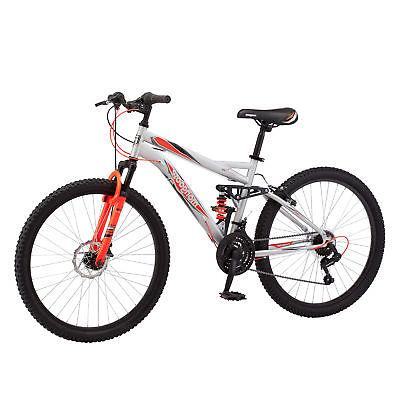 Mongoose 21 Speed Suspension Mens Bike