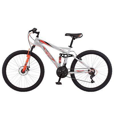 Speed Full Suspension Mens Bike Bicycle