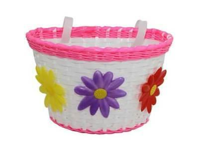BICYCLE BASKET FOR GIRLS BIKES SCHWINN & OTHERS NEW