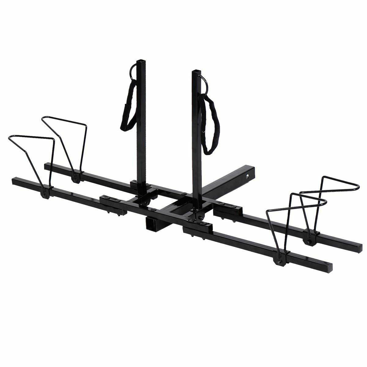 2 Bicycle Hitch Receiver Heavy 2'' Mount Rack Truck SUV