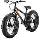 Mongoose Bike 20 inch Boys Fat Tire Bikes Compac 7-Speed Boy