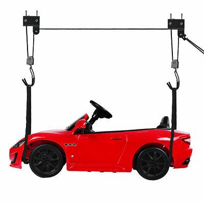 Garage Bike Lift Kayak Hoist Ladder Lift Durable Bicycle Sto