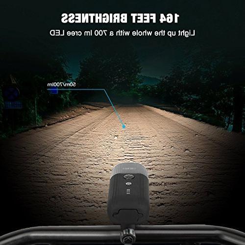 shenkey Bike USB Rechargeable Bicycle Power IP65 Headlight for