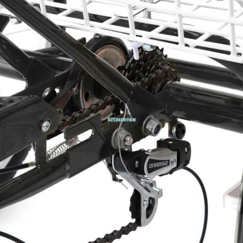 3-Wheel Shimano Trike Cruise