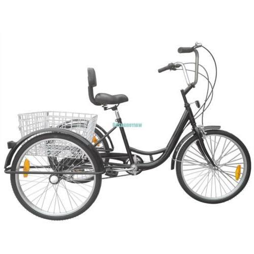 3-Wheel Tricycle Shimano 6-Speed Trike