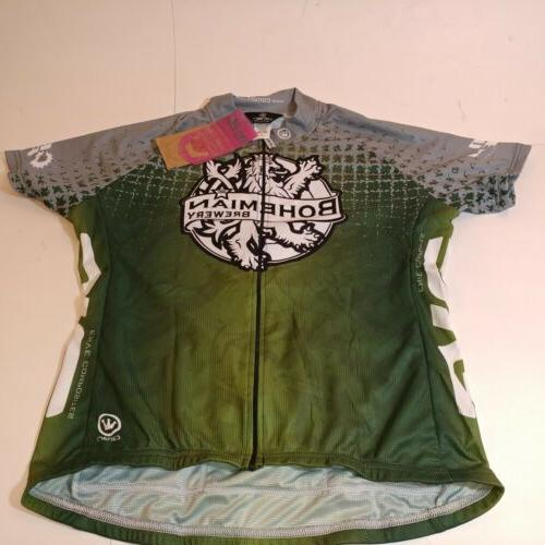 bohemian brewery brewery womens xl bike jersey