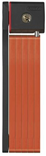 Abus Bordo 5700 Folding Lock, Orange, 80cm Length/5mm Plates