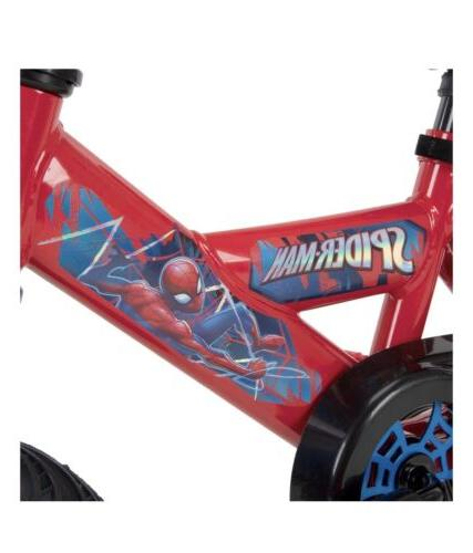 Boys Huffy Marvel Man Bike yrs