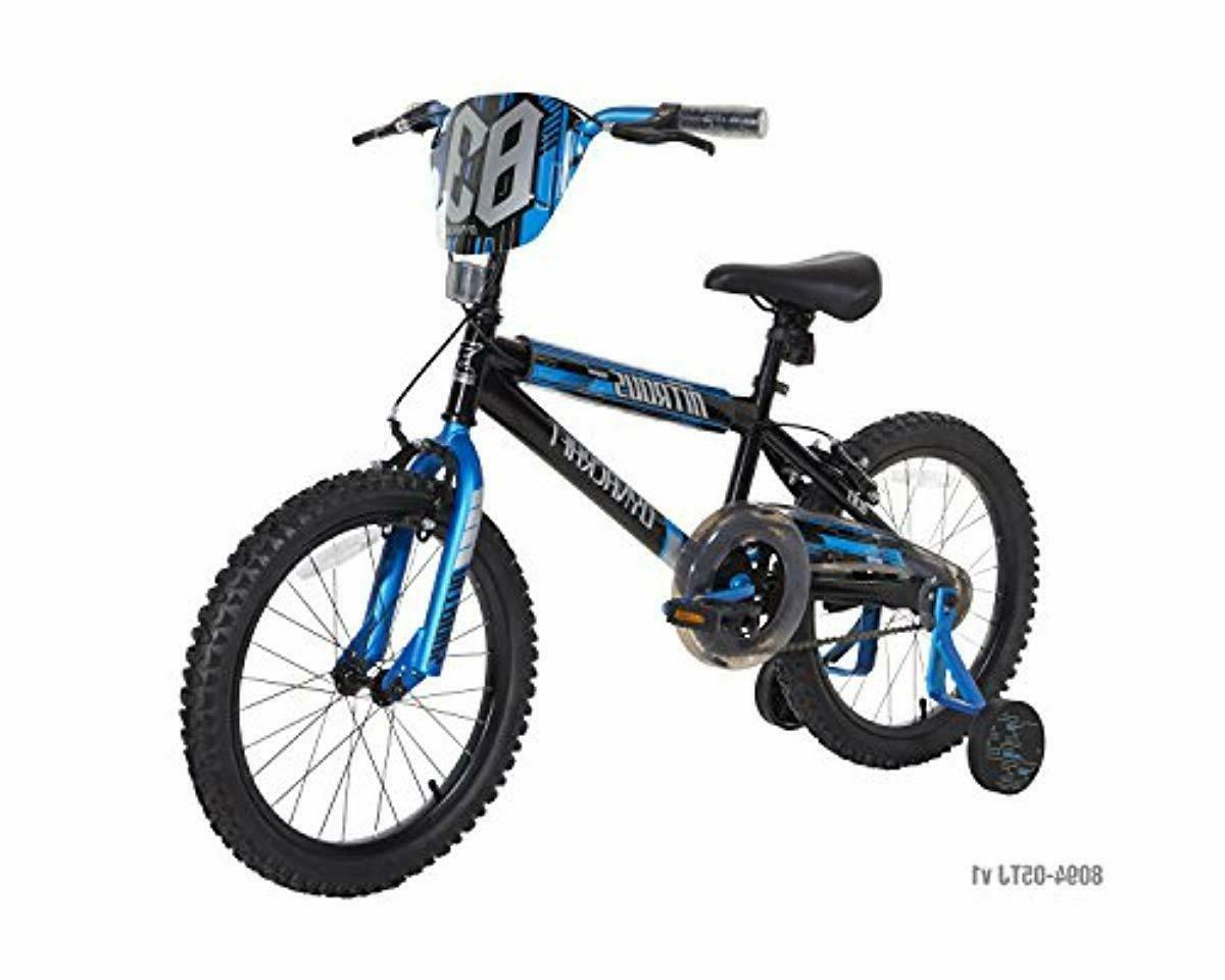 boys nitrous bike black blue 18 black